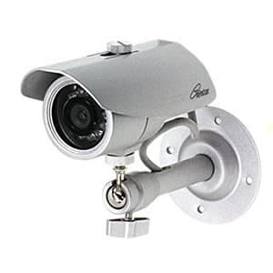 コロナ電業 【生産完了品】《Telstar》アルミ合金製本格使用ダミーカメラ 大小セットタイプ防犯ステッカー付属 TD-855