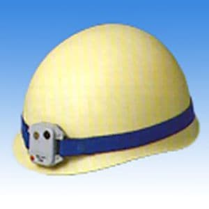長谷川電機工業 交流高電圧用 高圧活線接近警報器 ヘルメット取付タイプ 架空線作業専用 50Hz HX-6S-50Hz
