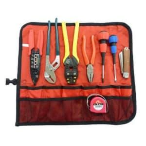 マーベル 【生産完了品】電気工事士 技能試験工具セット 巻き式タイプ 標準工具7点セット+VAストリッパー MDK-17DXM