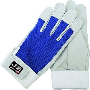 ワーキンググローブ 洗える革手袋 マジックテープ付 サイズ:LL寸 JWG-100LL