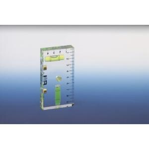 ジョブマスター クリスタルレベル アクリル製 マグネット付 ケガキ用センター穴付 JBL-100MX