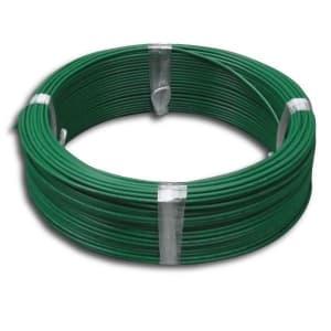 電材堂 600V ビニル絶縁電線 アース線 単線 1.6mm 100m巻 緑 600V ビニル絶縁電線 アース線 単線 1.6mm 100m巻 緑 IV1.6×100mミドリ