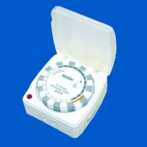リーベックス プログラムタイマーEXP カバー付 通電確認用ランプ付 PT77