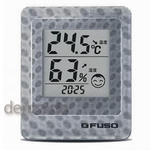 FUSO 卓上デジタル温湿度・環境3Dモニタ ブラック BTH-300B
