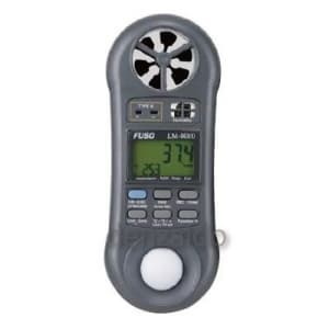 FUSO マルチ環境計測器 風量付 LM-8010