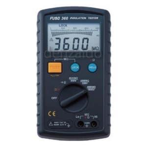 FUSO 3レンジデジタル絶縁抵抗計 FUSO-360