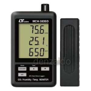 FUSO SDカード付CO2濃度計 MCH-383SD