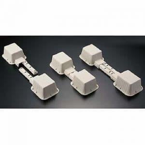 桃陽電線 室外機置台 フリーベース 330mm〜450mm対応 4個セット(室外機1台分) SFB_4set