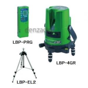 ジェフコム 【生産完了品】グリーンレーザーポイントライナー 受光器・三脚セット LBP-4GR-SET