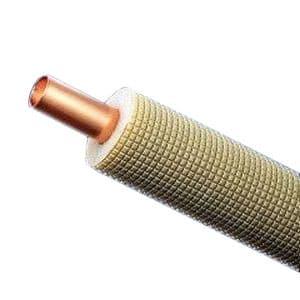 因幡電工 ネオコイル 被覆銅管空調用シングルタイプ 対応冷媒種別:3種 9.52×0.80 長さ:20m NC-320-15H