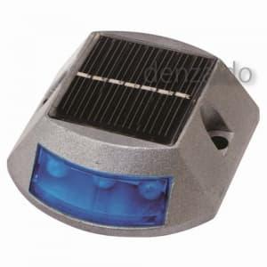 【受注生産品】ソーラーLEDポイントライト 常時点灯タイプ 青 YH-YSOB