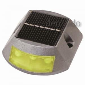 【受注生産品】ソーラーLEDポイントライト 常時点灯タイプ 黄 YH-YSOY
