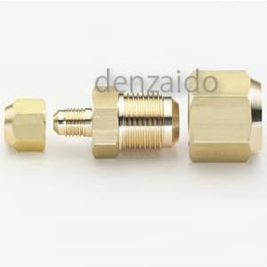 タスコ 配管接続用異径フレアユニオン フレアナット付 Fオス1/4×Fオス5/8 1コ入 TA241L