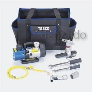 タスコ 【生産完了品】エアコン工具セット 新規据付真空引きセット TA21BB
