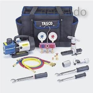 タスコ 【生産完了品】R410Aエアコン工具セット TA21AA
