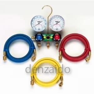HC冷媒用ゲージマニホールドキット 150cm TA127-2