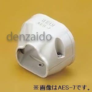 バクマ工業 端末カバー 機器接続部用 6型 アイボリー 《スマートダクト ADシリーズ》 AES-6-I