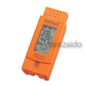 三和電気計器 【生産完了品】環境測定器 温湿度センサ ワイヤレス温湿度ロガー 《WiLOG》 WS10TH
