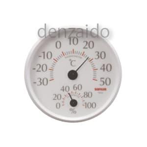 三和電気計器 【生産完了品】環境測定器 温・湿度計 室内用 アナログ TH10