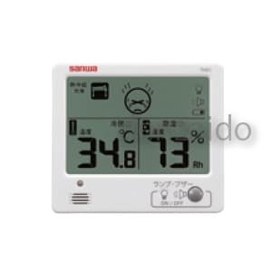 三和電気計器 【生産完了品】環境測定器 温・湿度計 室内用 デジタル TH21