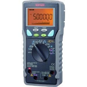三和電気計器 デジタルマルチメータ 高確度・高分解能 真の実効値測定 多機能15ファンクション 直流電圧/電流 交流電圧/電流 抵抗 他 PC7000