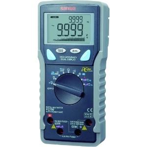 三和電気計器 デジタルマルチメータ 高確度・高分解能 多機能11ファンクション 直流電圧/電流 交流電圧/電流 抵抗 他 PC700