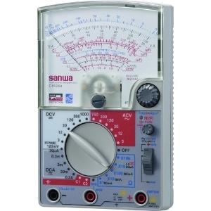 三和電気計器 アナログマルチテスタ トランジスタ発振器内蔵 6ファンクション 直流電圧/電流 交流電圧 抵抗 コンデンサ容量 直流電流増幅率(hFE) CX506a