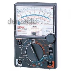 三和電気計器 【生産完了品】アナログマルチテスタ ゼロセンターメータ 9ファンクション 直流電圧/電流 ±直流電圧 交流電圧 抵抗 低周波出力 コンデンサ容量 直流電流増幅率(hFE) 導通 SH-88TR