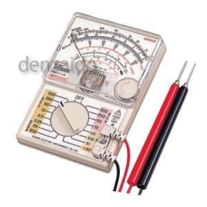 三和電気計器 【生産完了品】アナログマルチテスタ 23mm最薄型 7ファンクション 直流電圧/電流 交流電圧 抵抗 負荷電流 バッテリーチェック 低周波出力 CP-7D