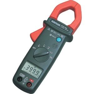 三和電気計器 クランプメータ AC専用 7ファンクション 交流電圧/電流 直流電圧 抵抗 周波数(直流/交流) 導通 DCM400