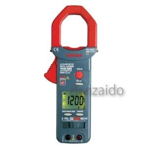 三和電気計器 クランプメータ 真の実効値 多機能大電流タイプ 10ファンクション 交流電圧/電流 直流電圧 周波数(電圧/電流) 抵抗 導通 DCL1200R