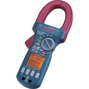 三和電気計器 クランプメータ DC/AC両用+真の実効値 8ファンクション 交流電圧/電流 直流電圧/電流 抵抗 周波数 導通 ダイオードテスト DCM2000DR