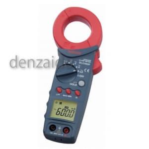 三和電気計器 クランプメータ Ioリーク測定 6ファンクション リーク電流 交流電圧/電流 直流電圧 抵抗 導通 DLC460F