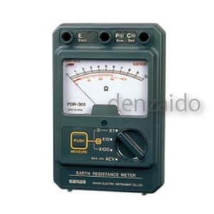 三和電気計器 【生産完了品】接地抵抗計 アナログ表示式 PDR-301