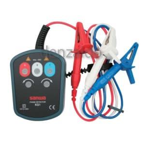 三和電気計器 検相器 三相交流用接触式検相器 AC100V〜500V KS1