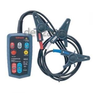 三和電気計器 【生産完了品】検相器 三相交流用非接触式検相器 AC75V〜1000V KS2