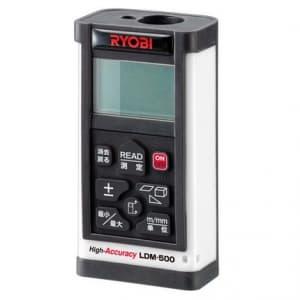 リョービ 【生産完了品】レーザ距離計 防じん・防水構造(IP54) 測定可能範囲:0.1〜50m 単4形アルカリ乾電池4本付 LDM-500