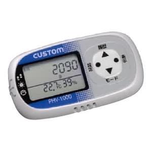 カスタム 熱中症・風邪チェッカー付活動量計 ホワイト PHV-1000W