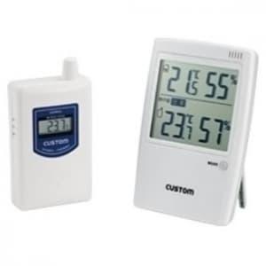 カスタム 無線温湿度モニター 熱中症警告インジゲーター付 HI-01RF