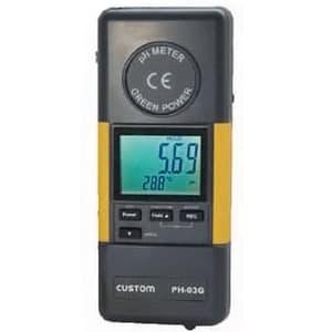 カスタム pH/ORP計 発電ハンドル付 PH-03G
