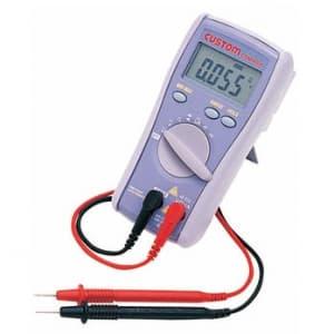 カスタム デジタルマルチメータ 測定機能(直流・交流電圧、交流電流μA、抵抗、導通チェック、ダイオードテスト、周波数) CDM-6000