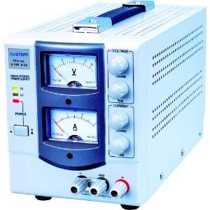 カスタム 直流安定化電源 アナログ式 出力電圧範囲0〜18V 出力電流範囲0〜3A AP-1803