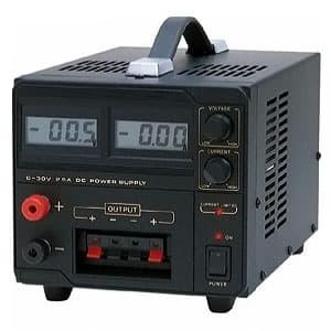 カスタム 【生産完了品】直流安定化電源 デジタル式 出力電圧範囲0〜30V 出力電流範囲0〜2.5A CPS-3025L
