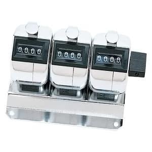 カスタム 数取り器 4桁3連式卓上タイプ H-102M-3