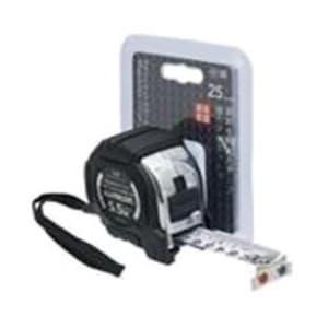 コメロン コンベックス マグジャケットクローム 25mm×5.5M 両面目盛付 KMC-31CM 1202245