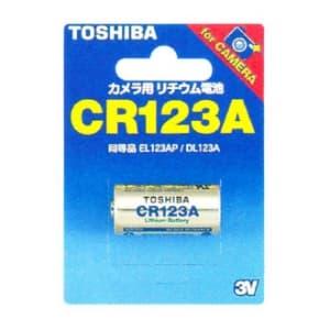 東芝 カメラ用リチウム電池 3V 30mA 1400mAh 1個入 CR123AG