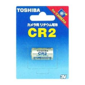 東芝 カメラ用リチウム電池 3V 10mA 850mAh 1個入 CR2G
