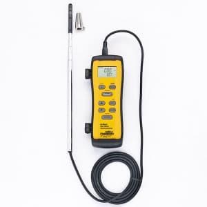 タスコ 熱線式風速計 温度・風速・風量測定 プローブ最長985mm TA411FP