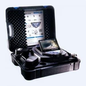 タスコ 先端可動型配管検査カメラ SDカード記録保存 〔WOHLER〕 TA417XG