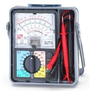 タスコ アナログマルチテスタ 導通ブザー付 携帯用ケース付 TA452CB-2